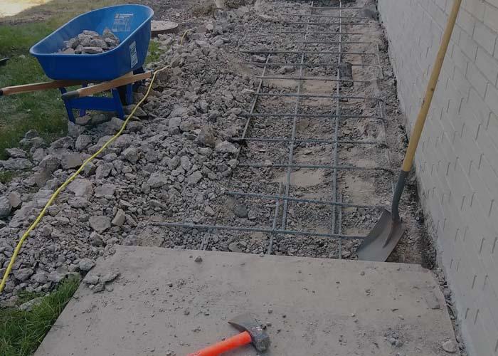 concrete work services