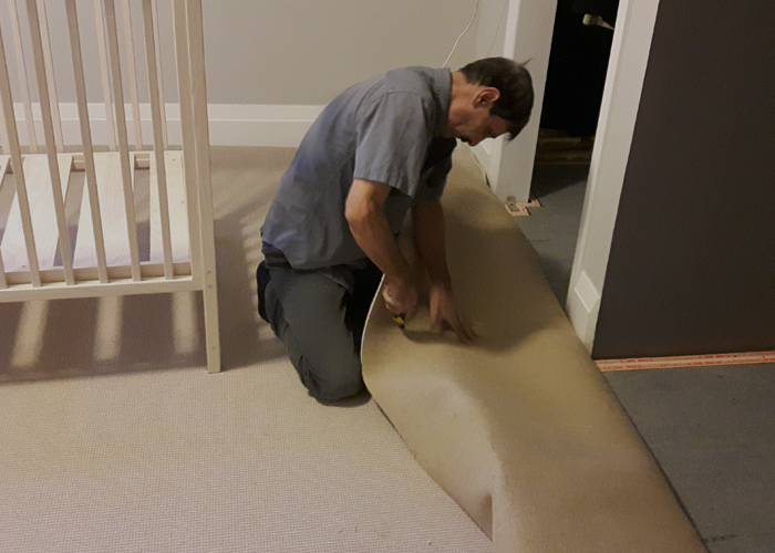 flooring installation and removal - carpet removal