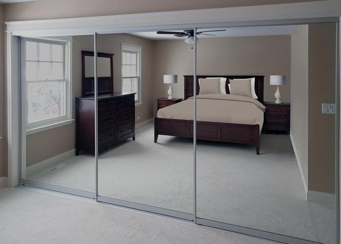 mirror door installation